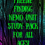 Finding Nemo Unit Study Pack