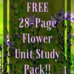 Flower Unit Study Printable Pack