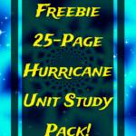 Hurricane Unit Study Pack
