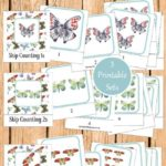 Montessori-Inspired Skip Counting Cards for Kids