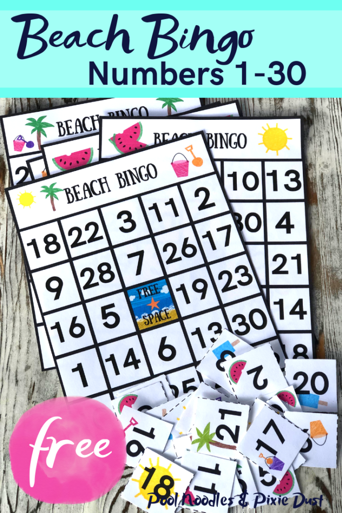 Free Beach Bingo Game