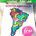 Printable Continent Coloring Pages
