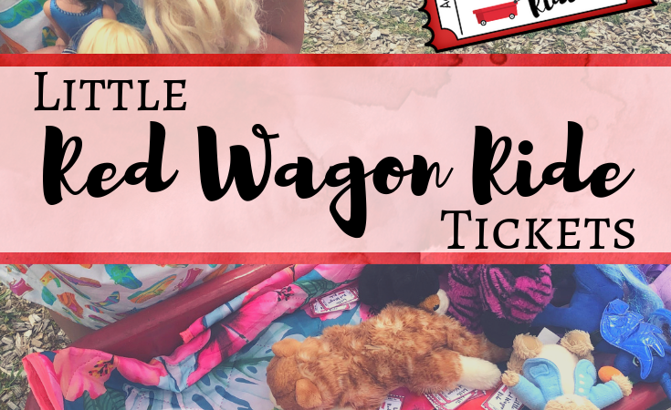 Wagon Ride Pretend Play Tickets