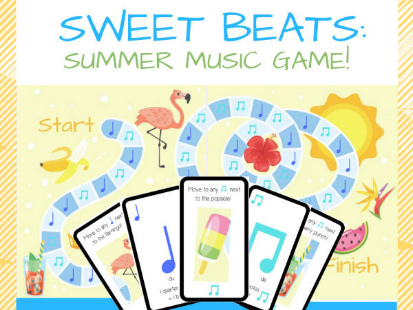Summer Music Board Game