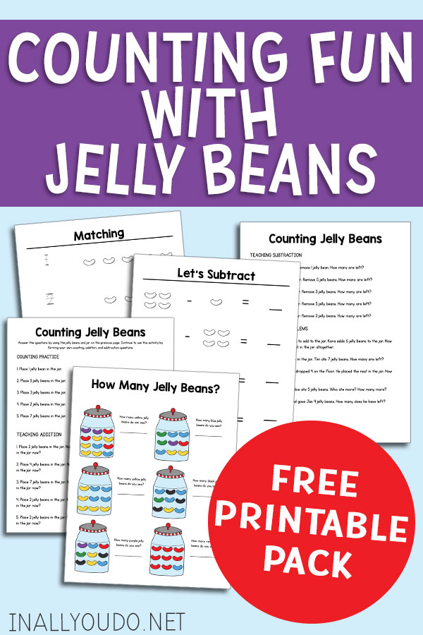 Jellybean Counting Pack
