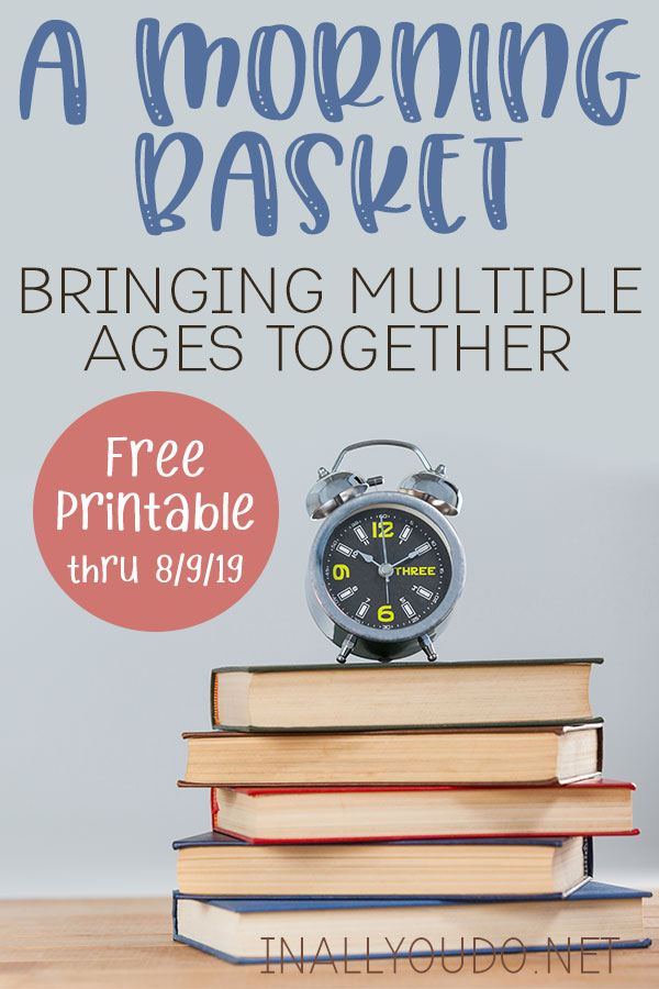 Morning Basket for Multiple Ages E-Book