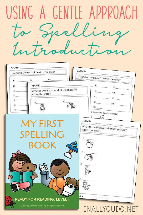 First Spelling Book Freebie