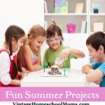 Printable Summer Activities List for Kids